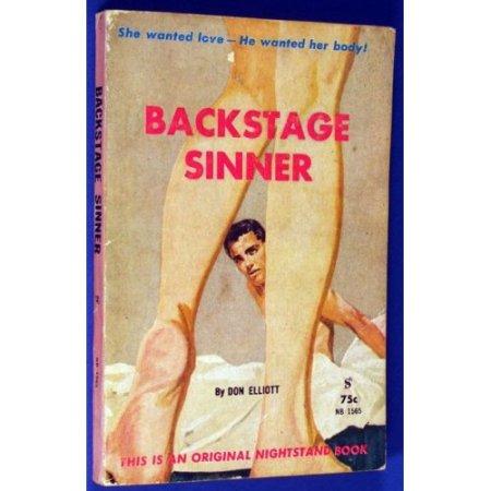 elliott - backstage sinner