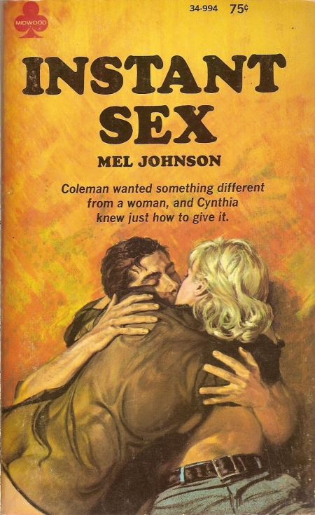 One of them was Instant Sex, that has a nifty Paul Rader cover: