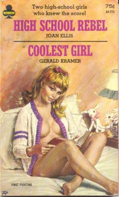 high school rebel coolest girl vintage sleaze cover