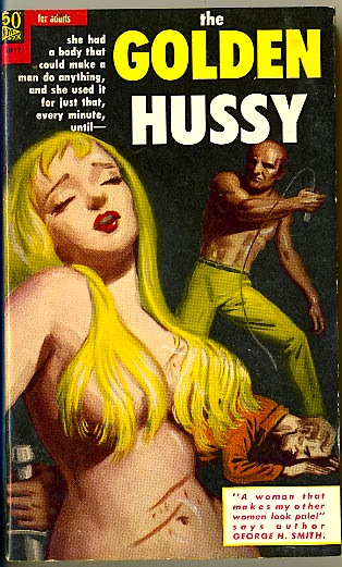 Novel Books - Golden Hussy