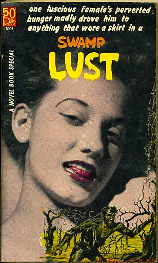 Novel Books - Swamp Lust