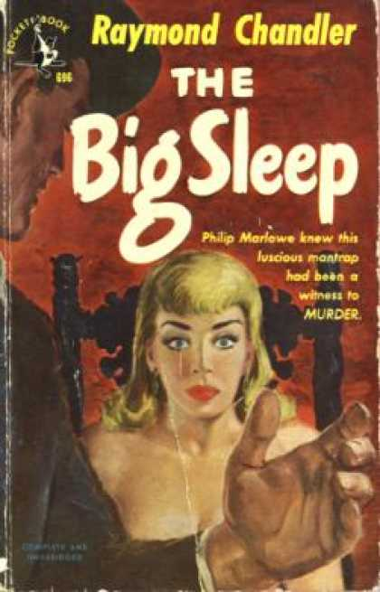 the big sleep detective marlowe Raymond chandler: breaking the norms of the detective genre his novels about private eye philip marlowe, the idealistic and lonely defender of los angeles of the 1930s and 1940s dler's the big sleep j k van dover (ed).